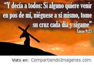 Tome su cruz y sigame