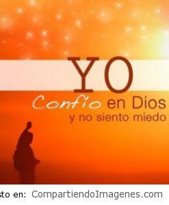 Yo confío en Dios