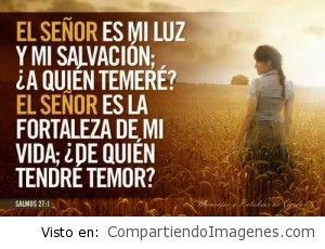Eres mi Luz y mi Salvacion