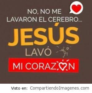 Jesús lavo mi corazón