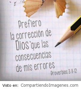 La corrección de Dios