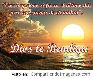 Dios te bendiga grandemente