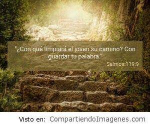 Postal del Salmo 119:9