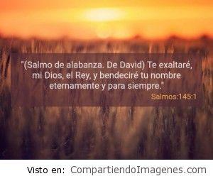 Postal del Salmo 145:1