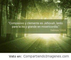Postal del Salmo 103:8