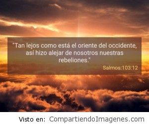 Postal del Salmo 103:12