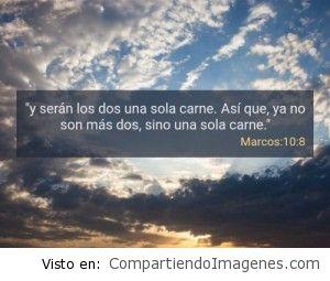 Postal de Marcos 10:8