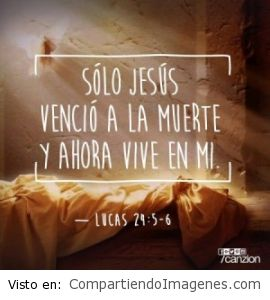 Jesus vencio la muerte