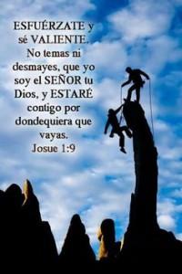 Yo soy tu Dios y estaré contigo.