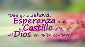 Eres mi Esperanza y Castillo mio