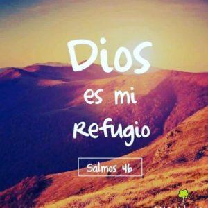 Dios es mi refugio