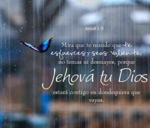Postal – No temas ni desmayes, el Señor estara contigo siempre