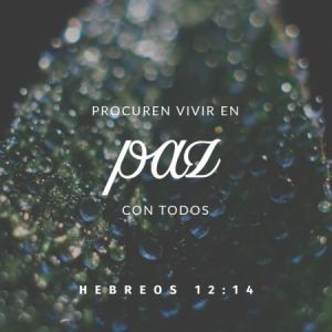 El Señor nos manda a que nos llevemos bien con nuestro prójimo. Amen!