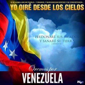 Dios todopoderoso: Te rogamos que sanes a Venezuela!!