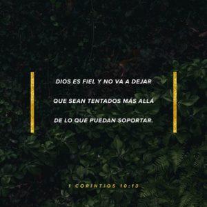 Dios es fiel.
