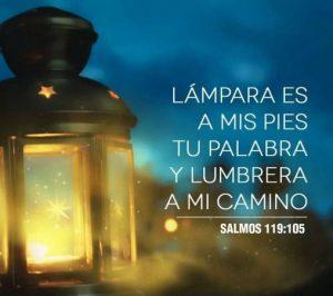 Lámpara es a mis pies tu palabra…