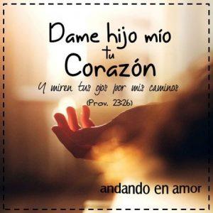 Entrégale tu corazón a Dios