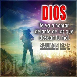 Dios te va a honrar…