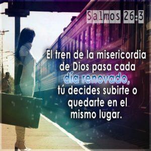 Gracias Señor Jesus por tu misericordia
