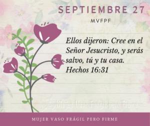 Imagen – Versículo Septiembre 27