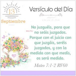 Imagen – Versículo del Día – Mateo 7:1:2 RV60