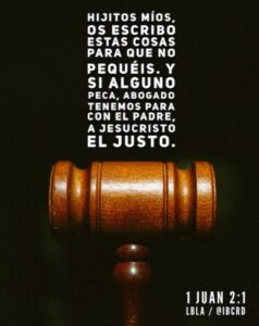 Imagen – 1 Juan 2:1 #LBLA @ibcrd