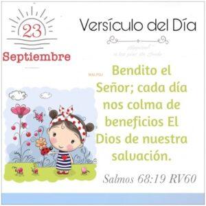 Imagen – Versículo del Día ~ Salmos 68:19 RV60