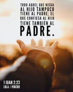 Imagen – 1 Juan 2:23 #LBLA @ibcrd