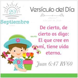 Imagen – Versículo del Día- Juan 6:47 RV60