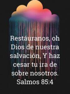 Imagen – Restáuranos oh Dios de nuestra salvación