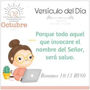 Imagen – Versículo del Día- Romanos 10:13 RV60