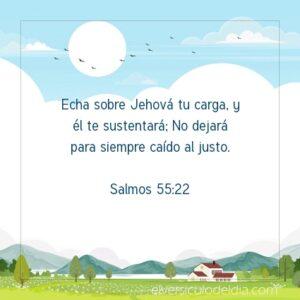 Postal – Echa sobre Jehová tu carga