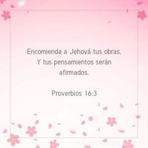 Postal – Encomienda a Jehová tus obras