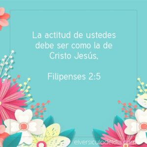 Postal – Actitud como la de Jesús