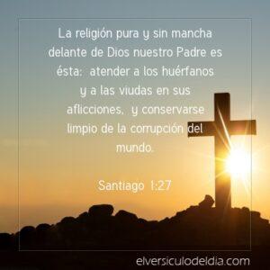 Postal – Esta es la religión pura delante de Dios