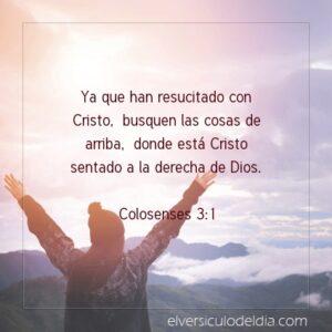 Postal – Ya que has resucitado con Cristo.