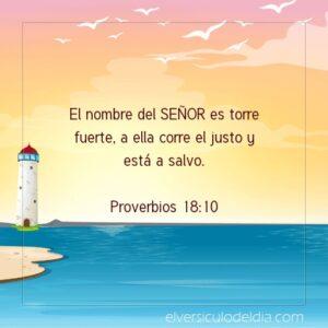 Postal – El nombre del Señor es torre fuerte