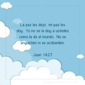 La paz que Jesús da