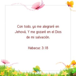 Postal – Me alegraré en Jesús