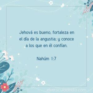 Postal – Jehová es bueno