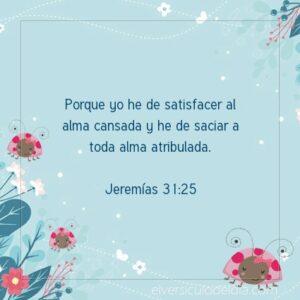 Postal – Dios satisface al alma cansada