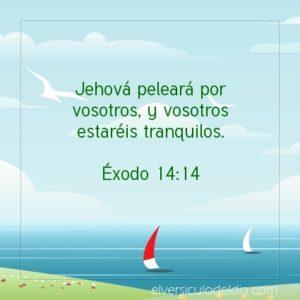 Postal – Jehová peleará por ustedes